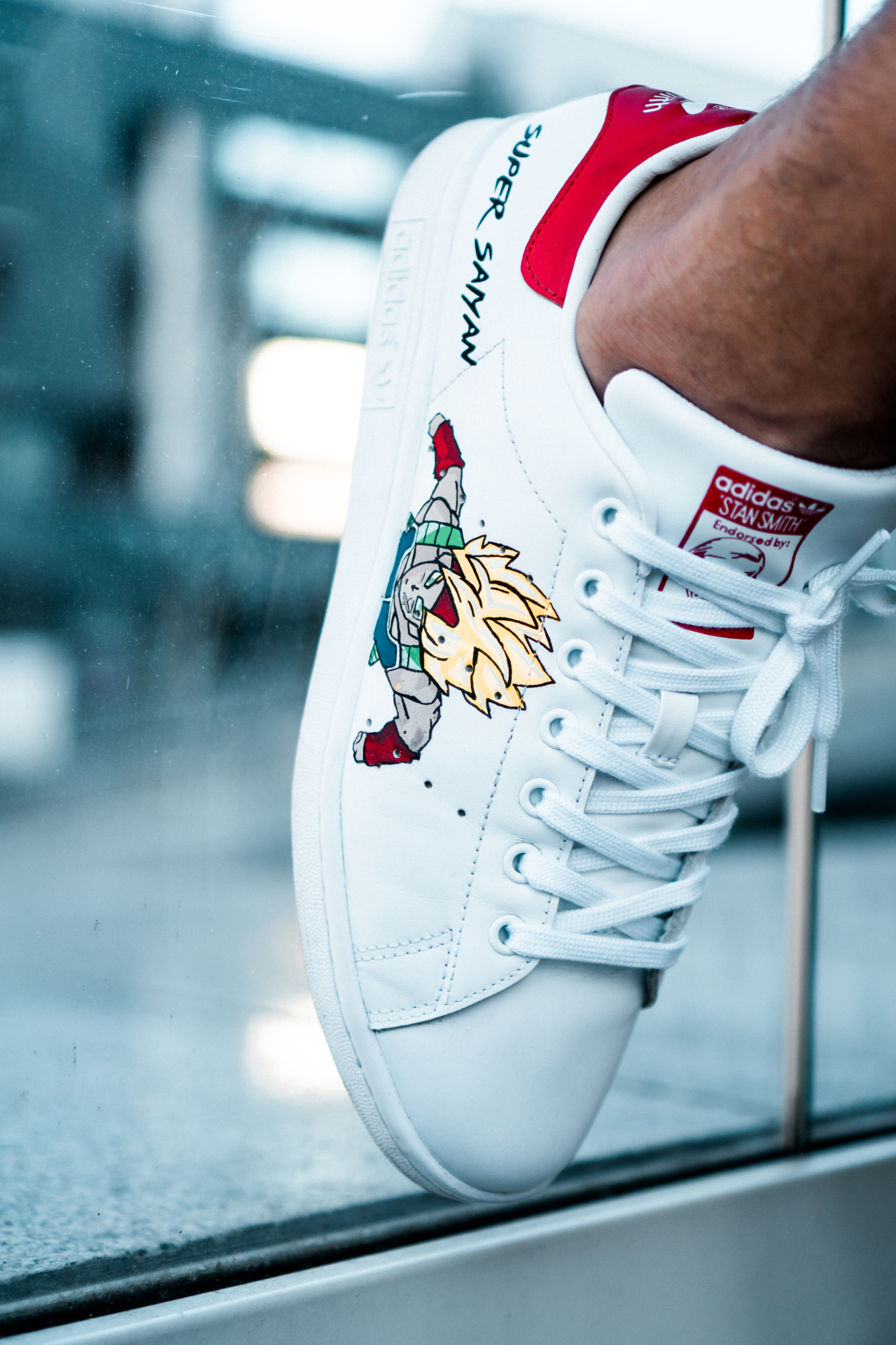 Customisation Stan Smith DBZ