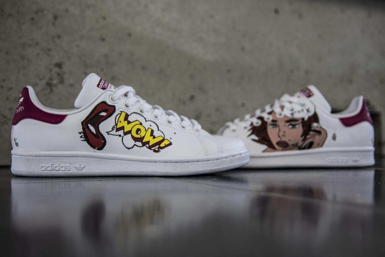 Custom - Stan Smith - Adidas - Rouen